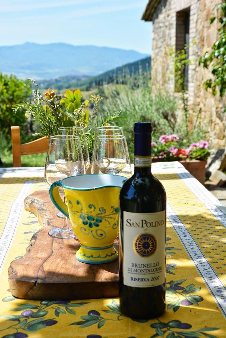 San Polino in Montalcino, Tuscany, Italy