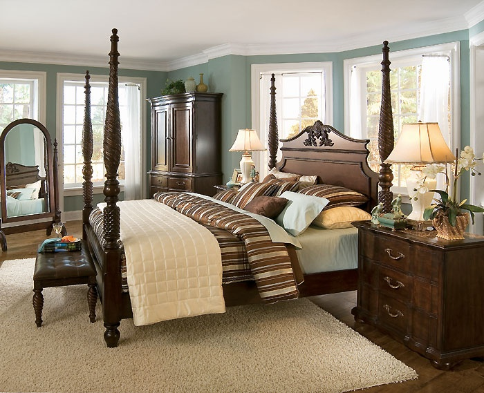 master bedroom bed belmont poster bed susans craftsman mountain retreat 12237