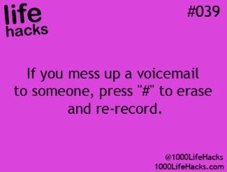 Redo voicemail