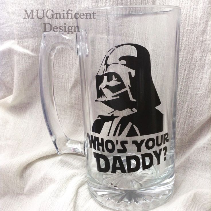 "DAD, Beer Mug // ""who's your daddy"" by MUGnificentDesigns on Etsy https://www.etsy.com/listing/237153700/dad-beer-mug-whos-your-daddy"