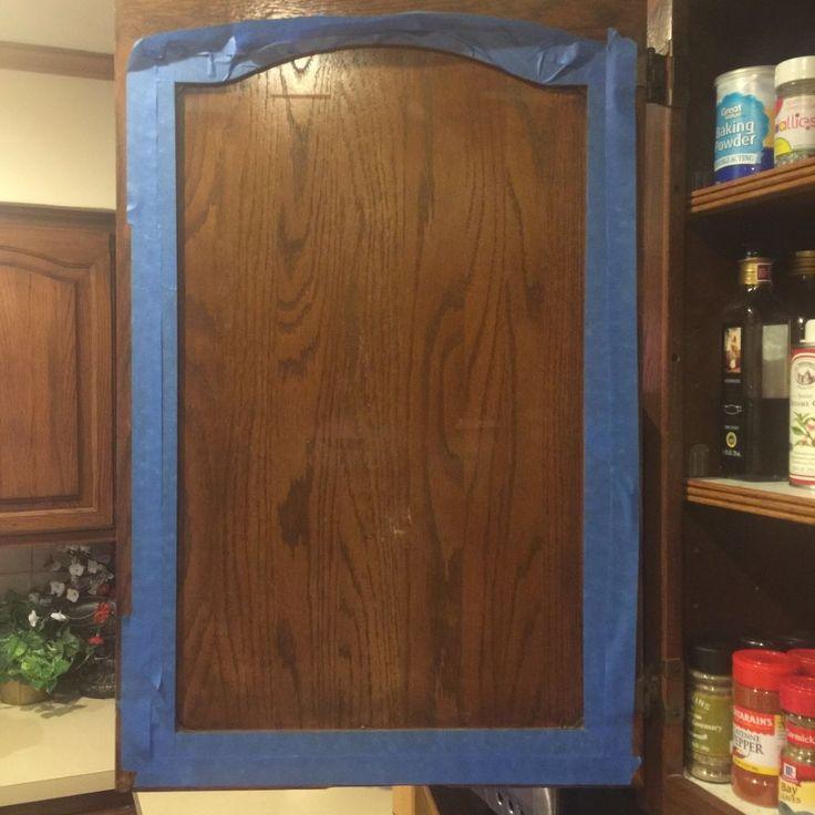 INSIDE Kitchen Cabinet Chalkboard Paint