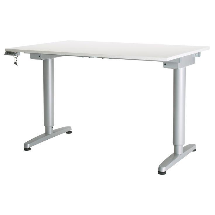 Eckschreibtisch weiß ikea  25+ parasta ideaa Pinterestissä: Galant schreibtisch | Ikea galant ...