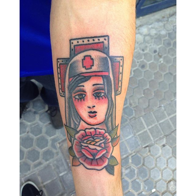 Las 25 mejores ideas sobre tatuajes de enfermera en for Hard ink tattoo