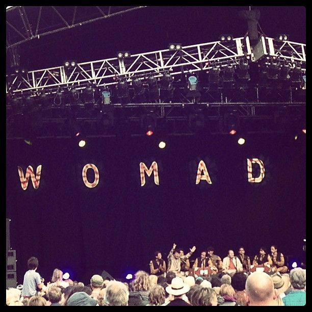 WOMAD in Malmesbury, Wiltshire