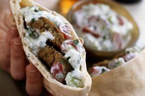 There's a Good Reason Falafel Pita Sandwiches Are So Popular...