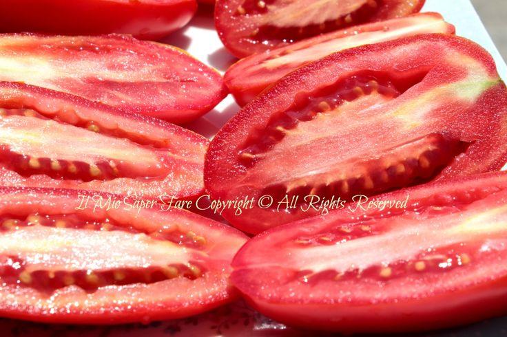 Come fare i pomodori secchi al sole  blog il mio saper fare
