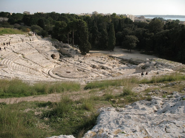 Teatro Greco Siracusa - The Greek Theatre of Syracuse