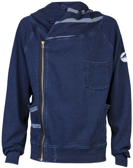Rolland Berry Blue Sailor Hoodie