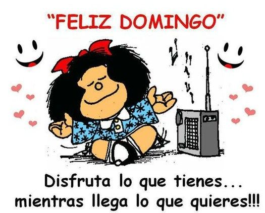 Postales para el domingo con Mafalda | Imagenes Para Compartir