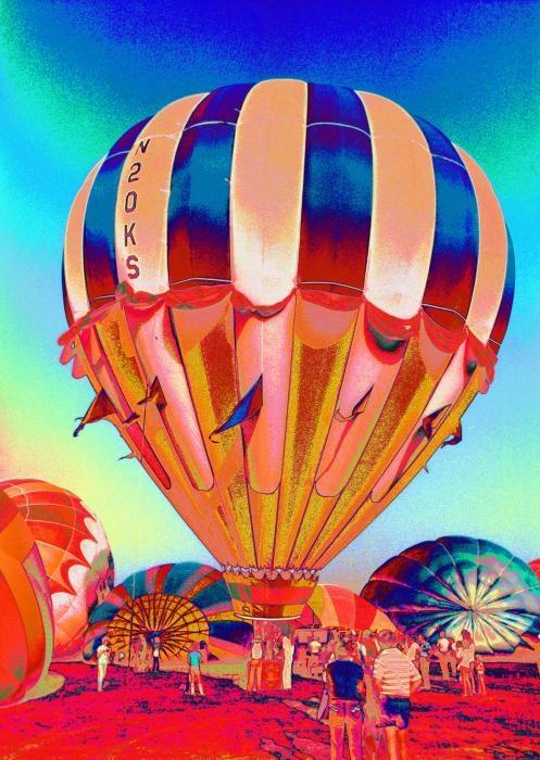 Pop art - balloon