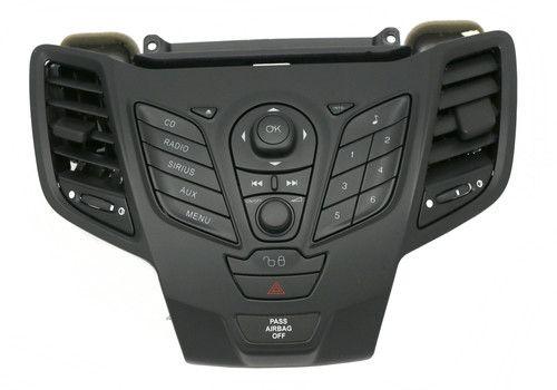 2011 2012 2013 Ford Fiesta Control Panel Module w Bezel Part AE8T-18K11-AA