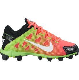 Nike Kids' Hyperdiamond Keystone Softball Cleat - Black/Red/Volt | DICK'S Sporting Goods