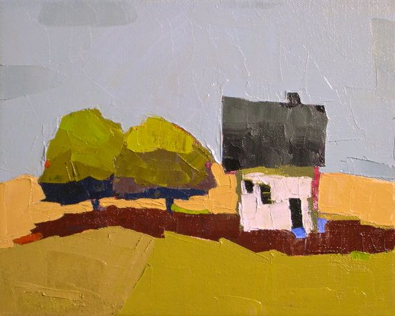 Our Place III. Oil Painting 8x10. Original Landscape by Donna Walker