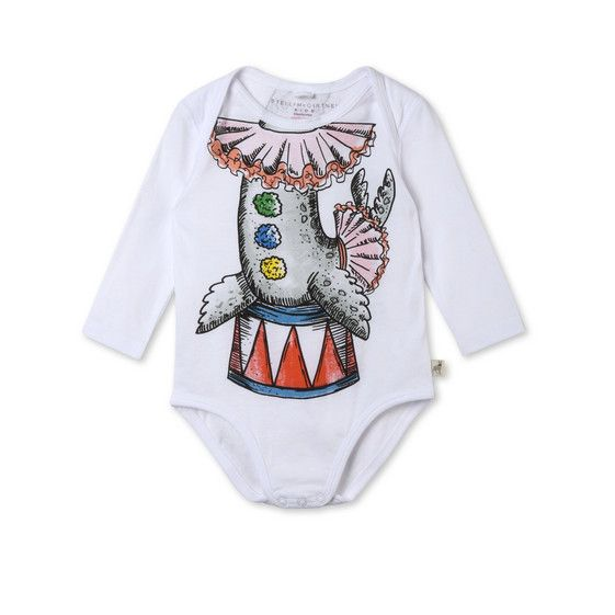 Shop the White Binky Seal Body by Stella Mccartney Kids at the official online store. Discover all product information.