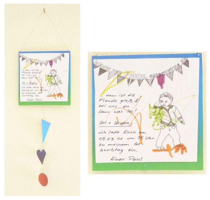 25+ beste ideeën over einladung kindergeburtstag text op pinterest, Einladung