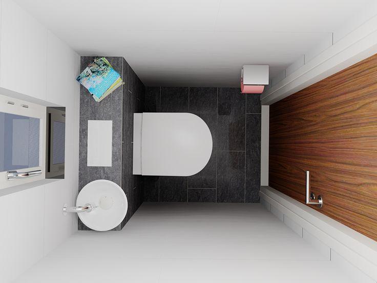 17 beste idee n over klein toilet op pinterest kleine toiletruimte toiletruimte en toilet beneden - Klein badkamer model ...