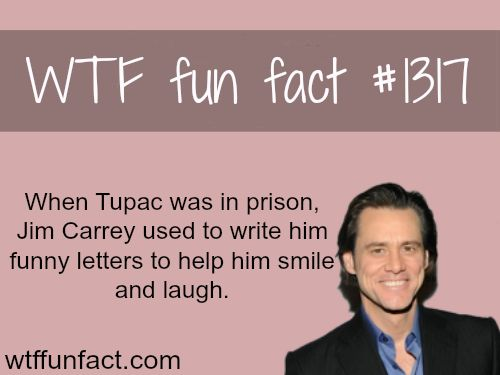 Jim carrey and tupac - celebrities facts MORE OF WTF FUN  are coming HERE celebs, movies  and fun facts