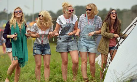 Glastonbury fashion: