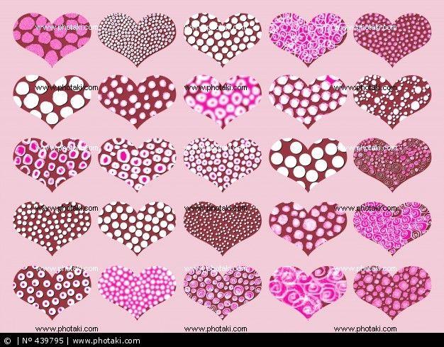 Печенье шоколадные конфеты сердцах и розовый сахар