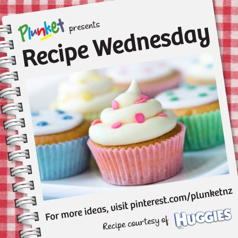 Tried and tested by the Huggies team, this simple cupcake recipe is guaranteed to make perfect cupcakes everytime #recipewednesday