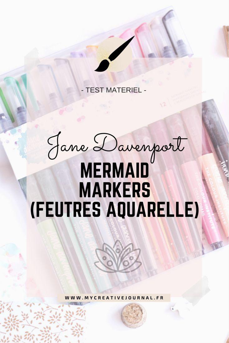 Mermaid Markers Jane Davenport : Test et avis
