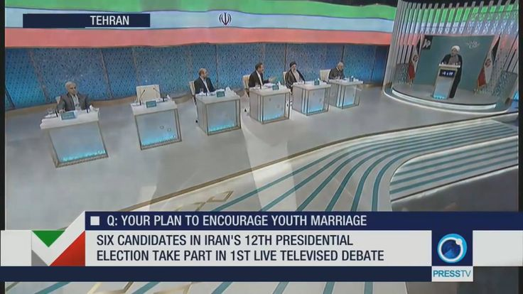 WATCH: Highlights of first presidential debate on national TV #IranElections2017