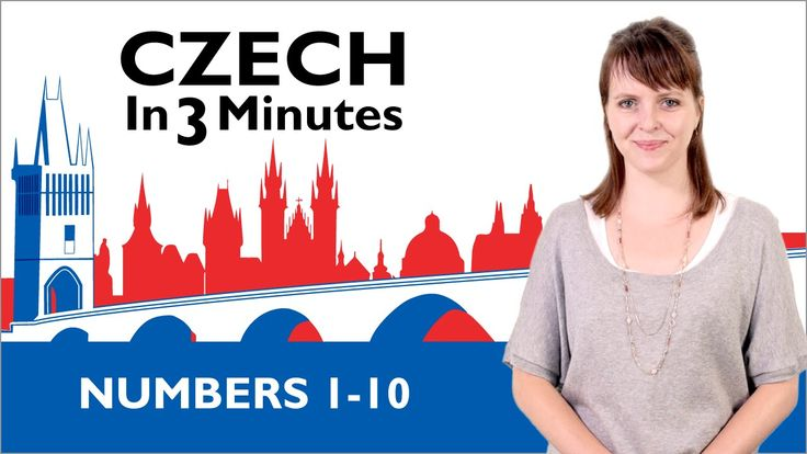 Learn Czech - Numbers 1-10 - Czech in Three Minutes