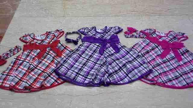 Dress Bayi Perempuan + Bando umur 6-9-12bulan - http://keikidscorner.com/baju-bayi/dress/dress-bayi-perempuan-bando-umur-6-9-12bulan.html