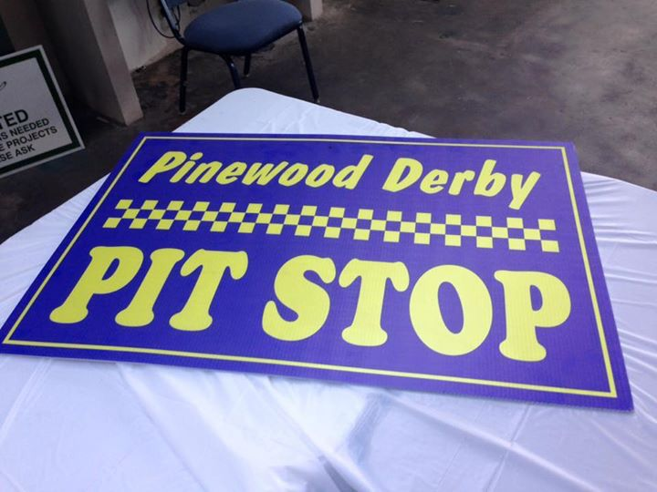 The local Pinewood derby was held at Packard this year! What a great event!! Check out our upcoming events on our website, www.PackardEvents.com