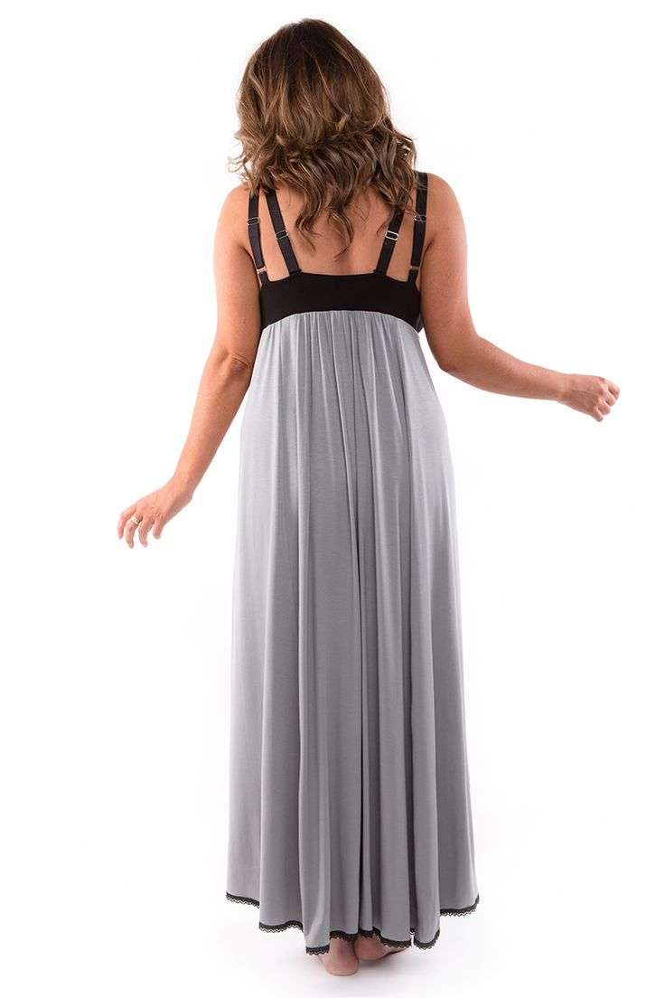 Nerida Night Dress for the ladies with bigger busts wanting support into their nightwear