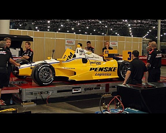 2012 IndyCar Brazil Friday Setup Indy cars, Team