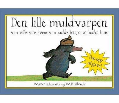 Barnebok, den lille Muldvarpen, Pop-up