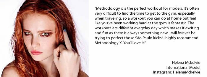 Methodology x is a fun and intensive 21-day home workout guide designed for Fashion Models and is now available to all women who seriously aspire to such levels of body toning and fitness It will also help people to Lose weight fast. This is a multimedia book with built in videos of all the key exercises.