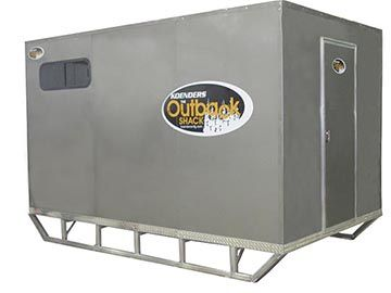 Koenders Outback Ice Shack, Aluminum Ice Fishing Shack, Ice Shacks, Ice Shanty