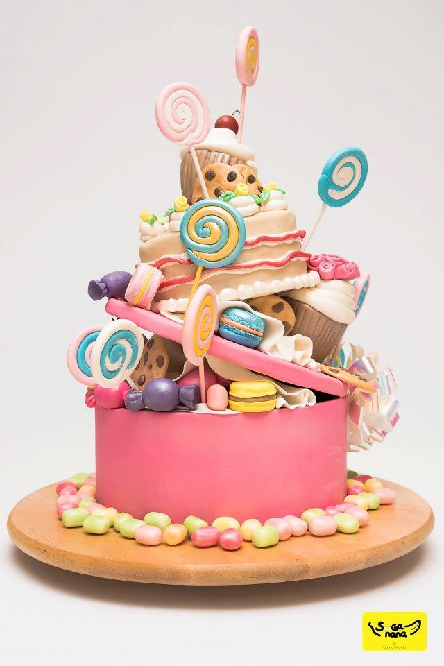 Candies cake
