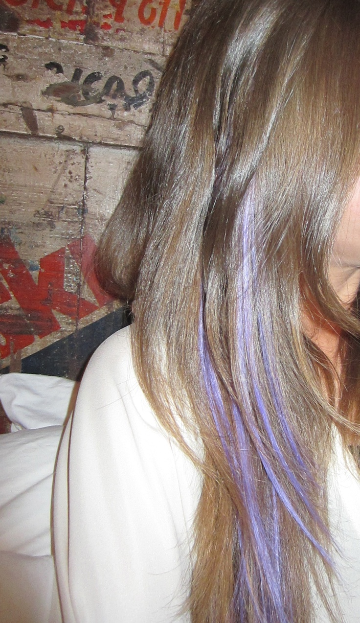 Best 25 purple peekaboo highlights ideas on pinterest purple i single purple hightlight maybe 2 or hidden in my except i want a more darker redder purple that would blend into my hair if need be pmusecretfo Image collections