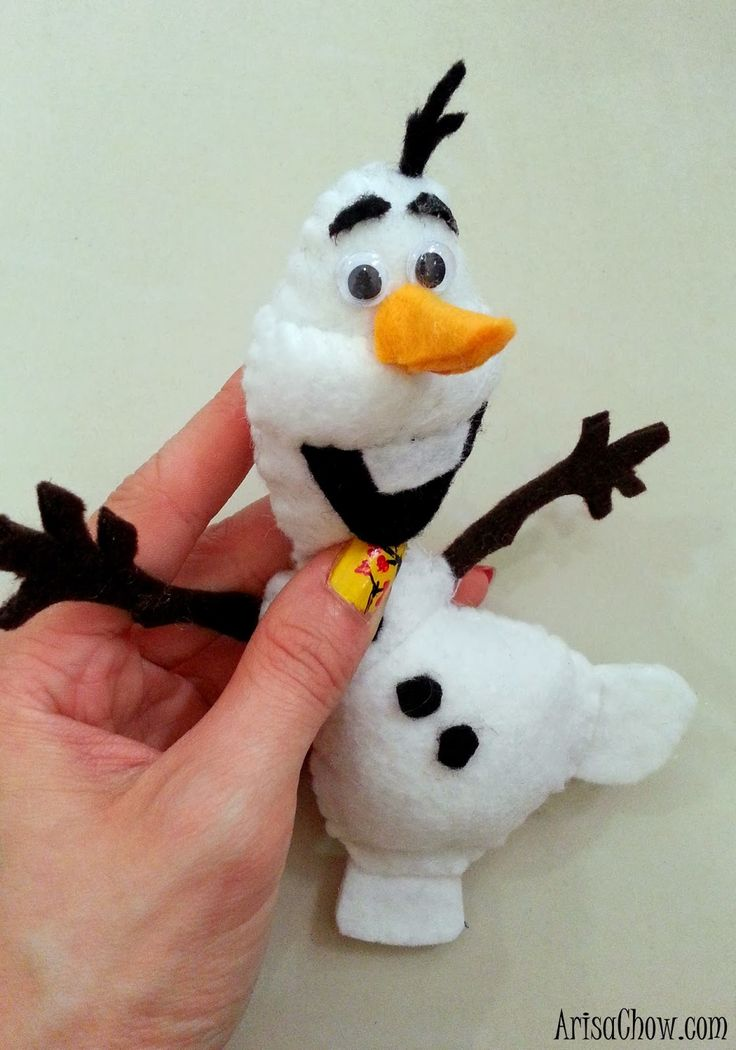 Irrevocable Passion: Frozen Olaf Plushie DIY