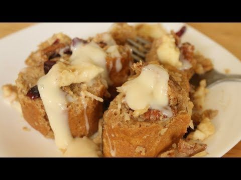 Como hacer capirotada de 4 Leches /Mexican bread pudding - YouTube