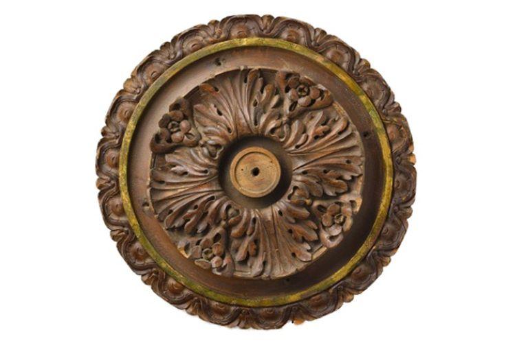 antique ceiling medallions | 19th C. Antique Ceiling Medallion II | Omero Home