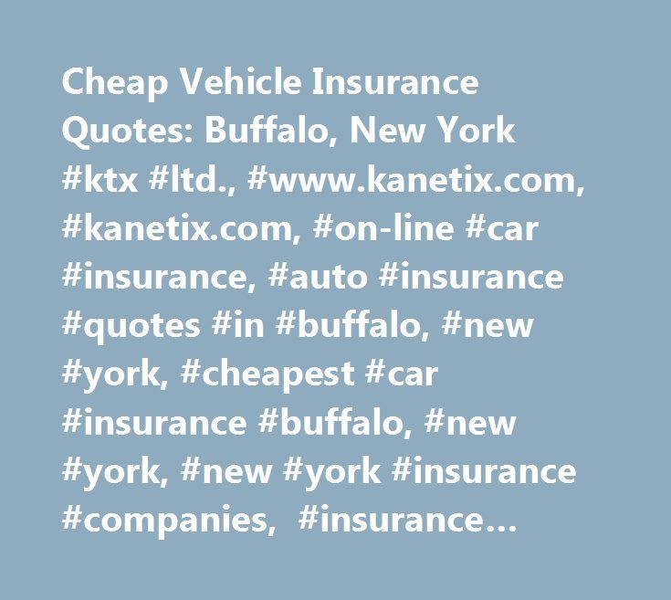 Car insurance companies in buffalo new york