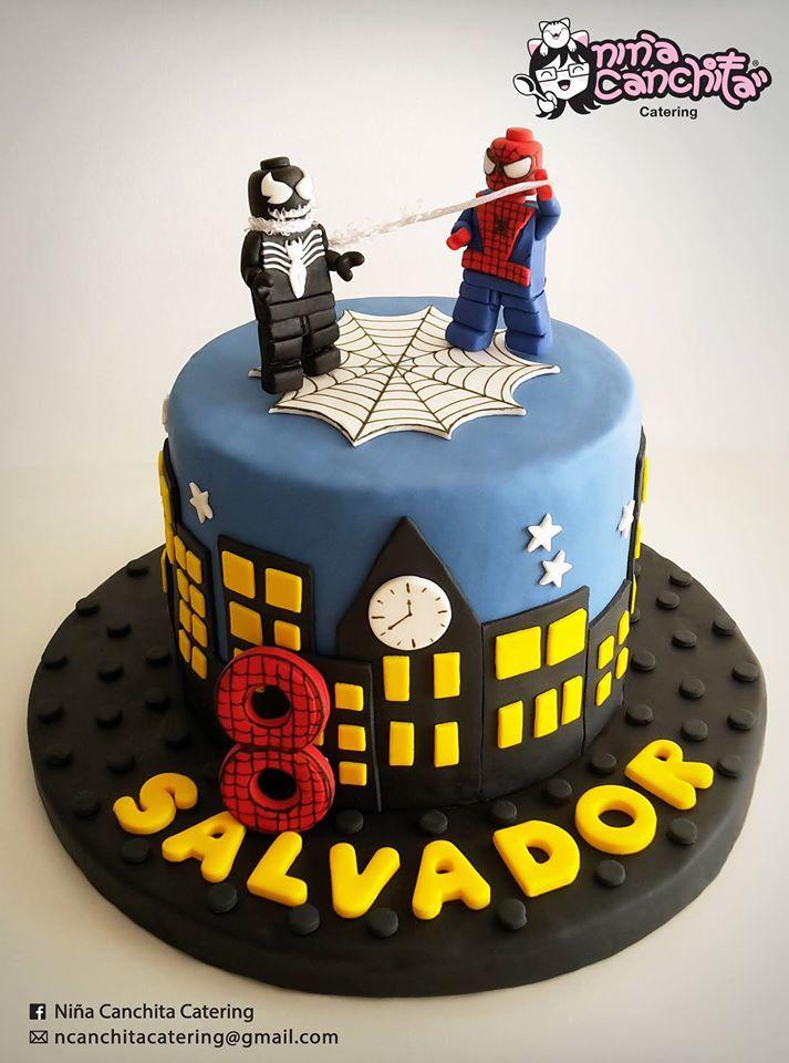 Spiderman Lego Cake  Lego - Marvel