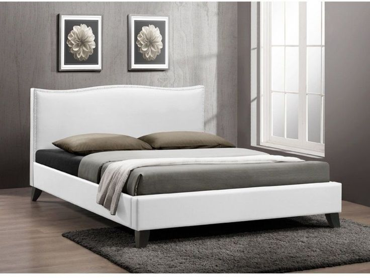 modern queen bed frame white available design wood bedroom furniture comfortable