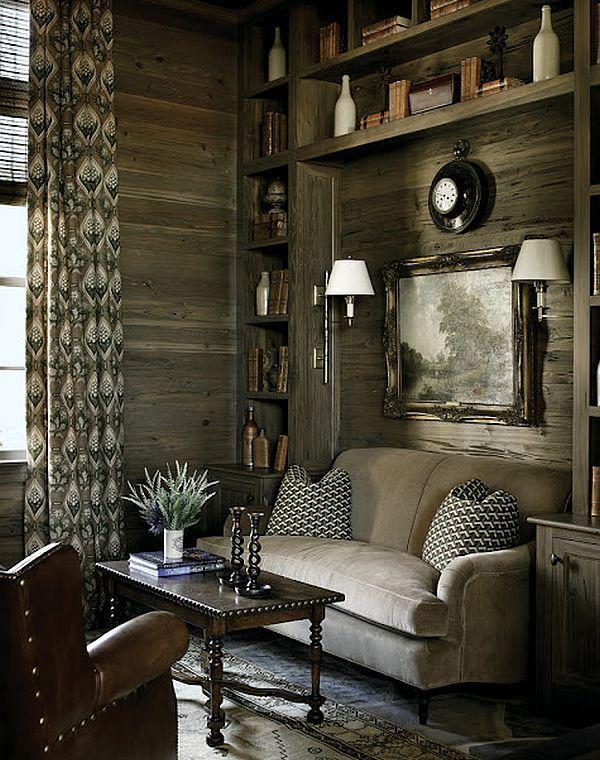 Blue Ridge Mountains Home - Nancy Warren design, photo Emily Followill via Atlanta homes & Lifestyles