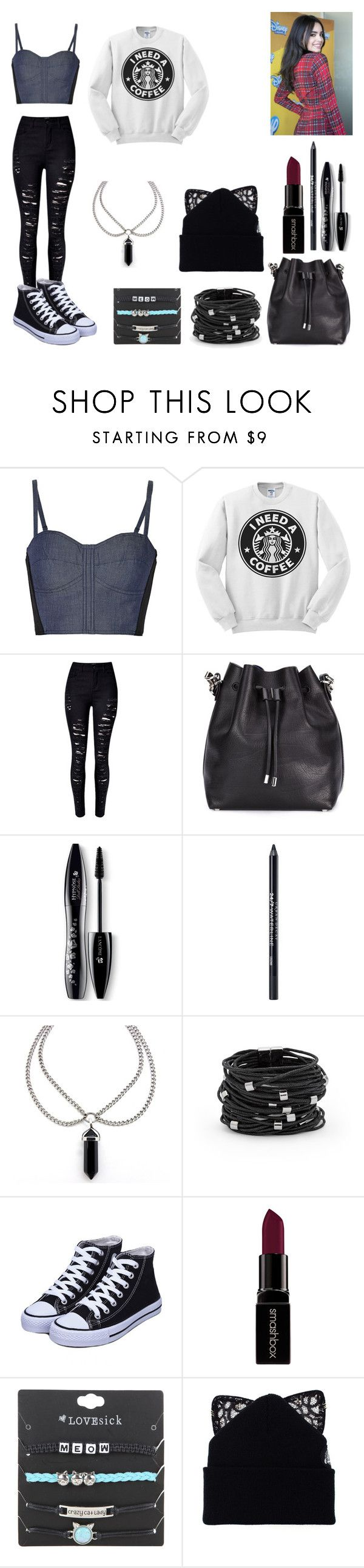 """""""Fanfic- the best frind -1 - Juliete"""" by aninha-gpassis ❤ liked on Polyvore featuring Rebecca Minkoff, WithChic, Proenza Schouler, Lancôme, Urban Decay, Chico's, Smashbox and Silver Spoon Attire"""