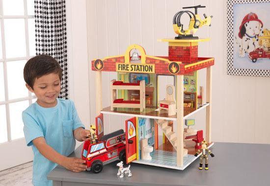 KidKraft Fire Station Play Set 63236