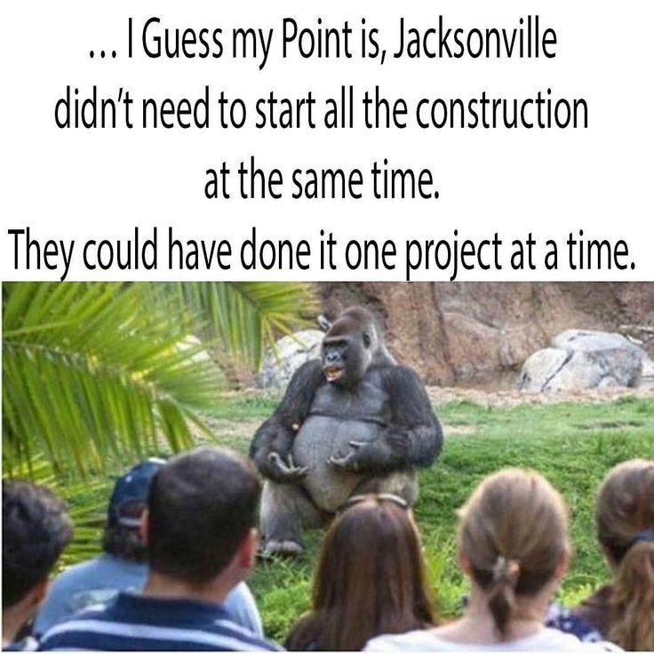 """169 Likes, 1 Comments - 95.1 WAPE (@951wape) on Instagram: """"He speaks the truth! #igersjax #904 #construction #jacksonville #florida #traffic"""""""