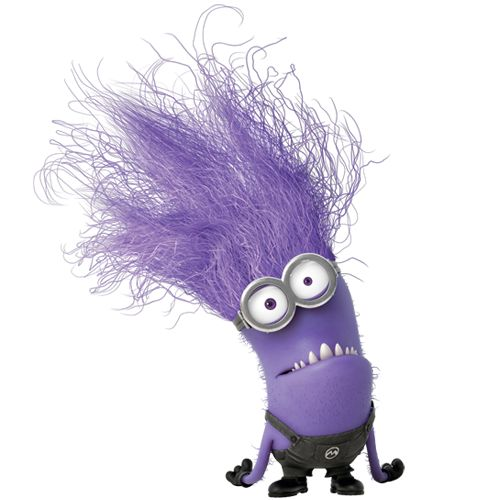 despicable me purple minion