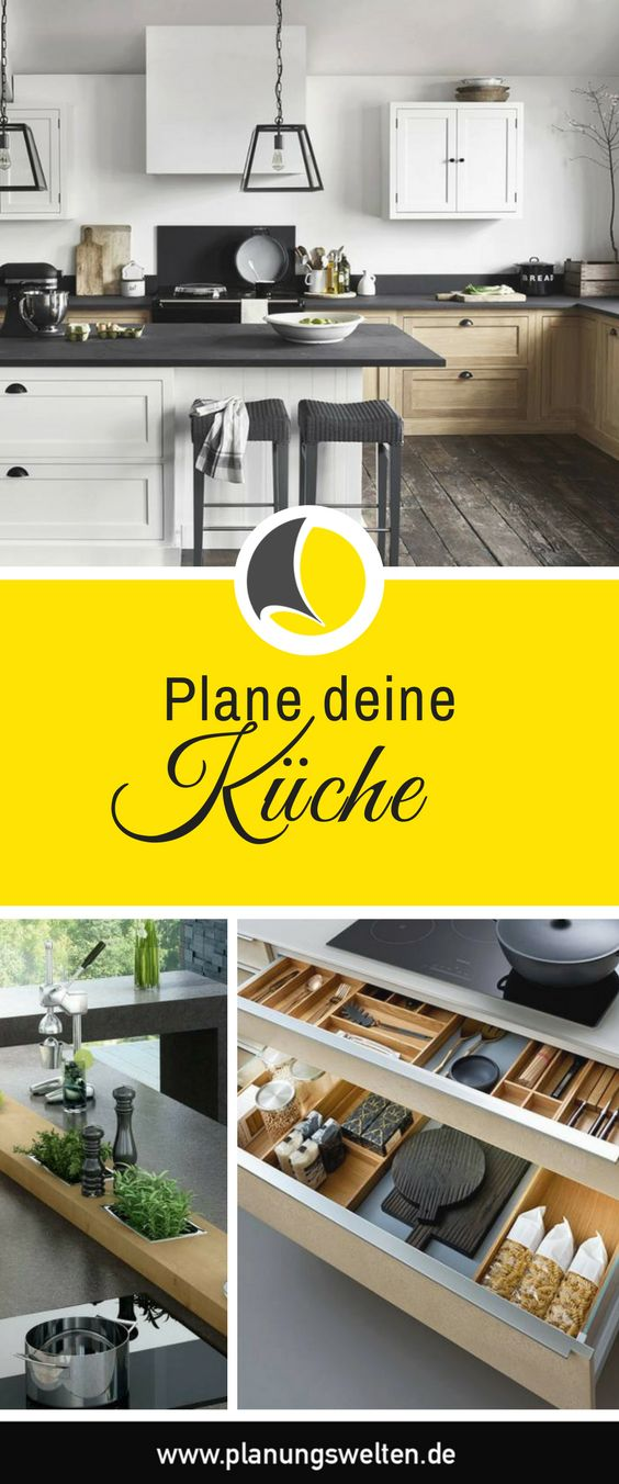 68 best Küche images on Pinterest Ikea kitchen, Kitchen ideas - küchen selbst planen