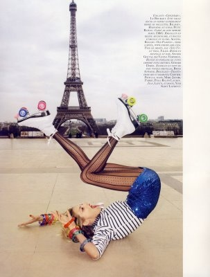 I just love French Vogue: Paris, Fashion, Roller Skating, Style, Photography, Terry Richardson
