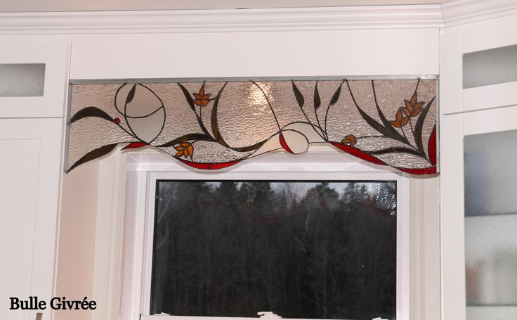 vitrail lanternes   Réalisations vitraux - Bulle Givrée